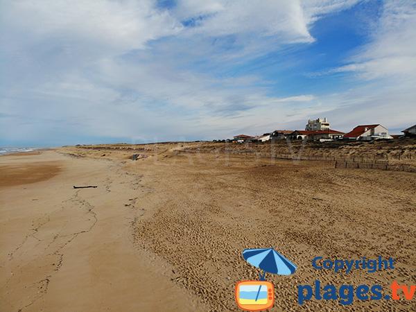 Début de la plage de la Gravière - Hossegor