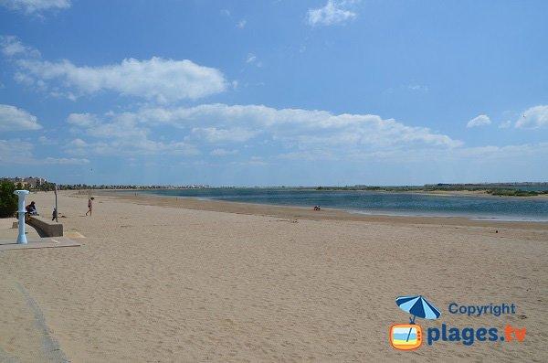 Plage du grazel gruissan plage 11 aude languedoc roussillon - Office du tourisme de gruissan ...
