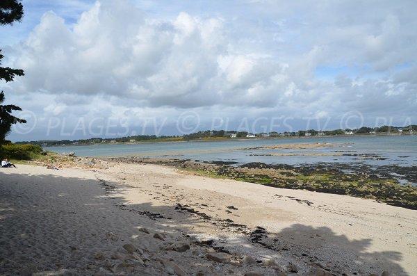 Photo de la plage du Grazu à La Trinité - Morbihan