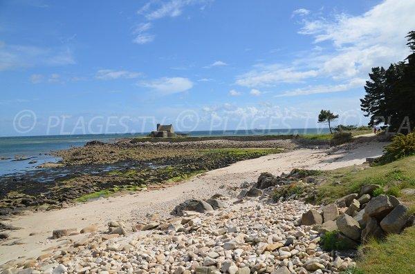 Grazu beach in La Trinité sur Mer in France