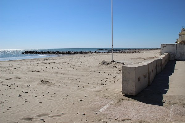 Le Grec beach in Palavas les Flots in France
