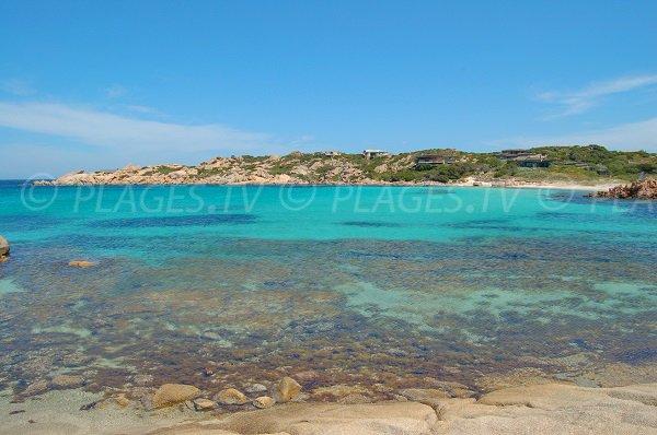 Beach in the Cala di Grecu - Cavallo island