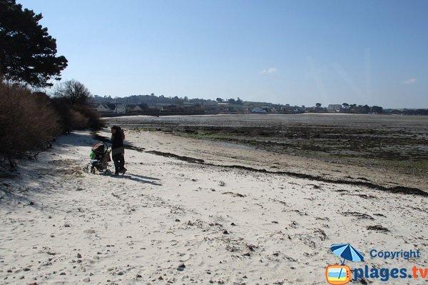 Photo de la plage de Groa Rouz de Roscoff