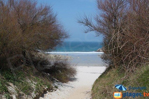 Photo de la plage de Groac'h Zu - Cléder