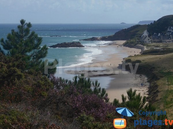 Photo of Guen beach in Erquy in France