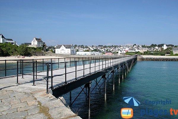 Passerelle de la plage de Guepratte - Audierne