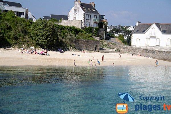 Photo de la plage de Guepratte à Audierne
