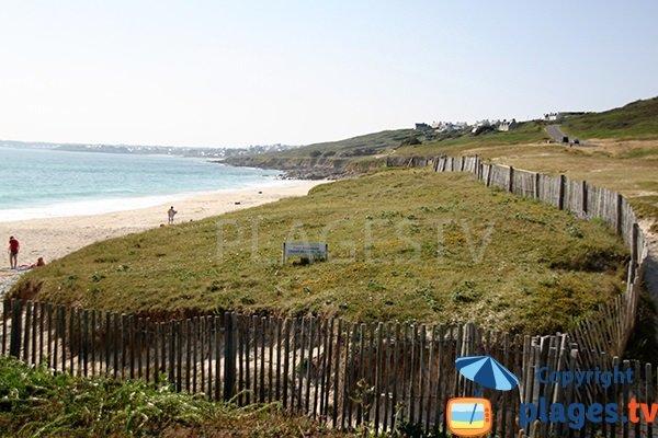 Dunes autour de la plage de Gwendrez - Plouhinec - Finistère