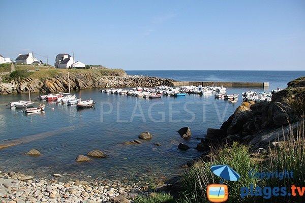 port de Porz-Poullan - Plouhinec - Finistère