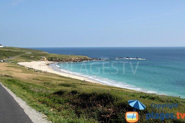 Photo de la plage de Gwendrez à Plouhinec - Finistère
