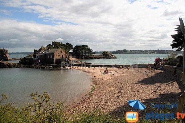Belle plage sur l'ile de Bréhat