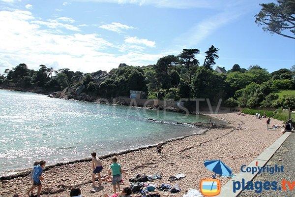 Plage principale de l'ile de Bréhat - Gwerzido
