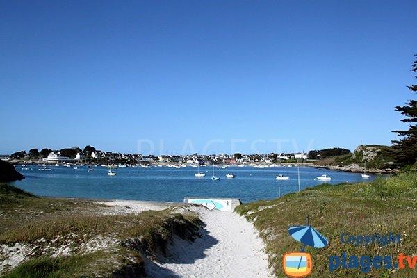 Photo de la plage de Gwisselier à Landunvez - Bretagne