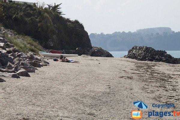 Photo de la plage des Haas - St Jacut de la Mer