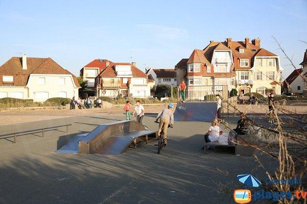 Skate parc Hardelot