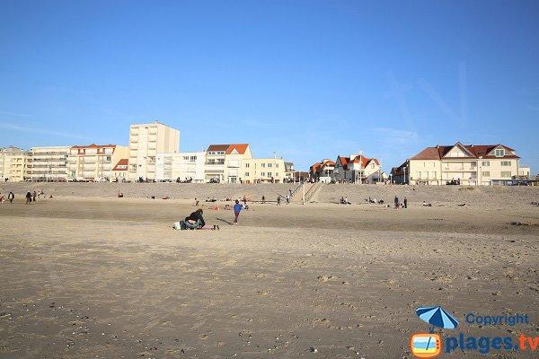 Front de mer d'Hardelot-Plage