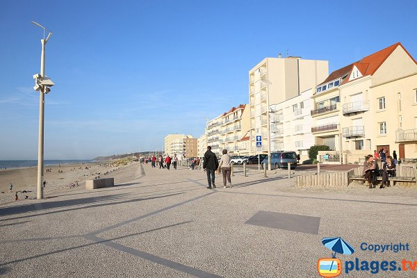 Digue promenade d'Hardelot-Plage