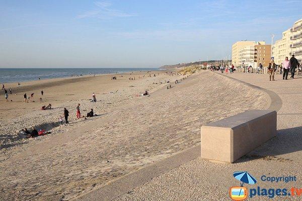 Photo de la plage d'Hardelot Neufchatel
