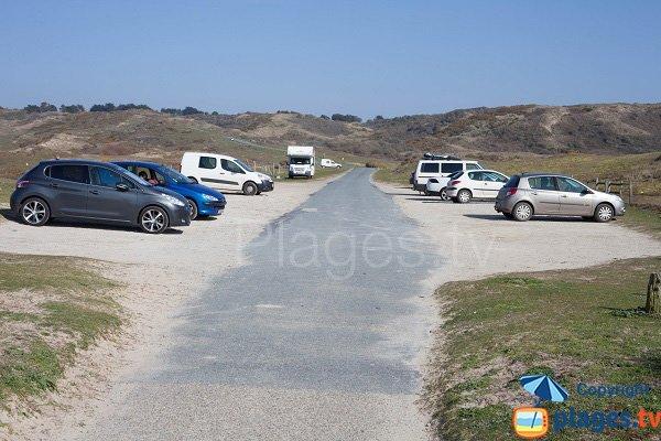 Parking de la plage d'Hattainville