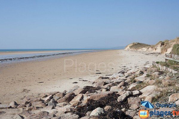 Photo of Hattainville beach in Normandy
