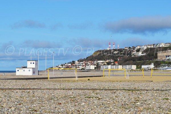 Foot sur la plage du Havre