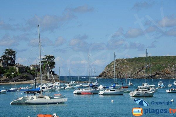 Porto del Havre del Lupin a Saint Malo