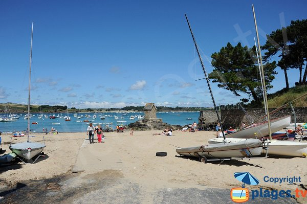 Photo of the Havre beach in St Malo - Rothéneuf - Brittany