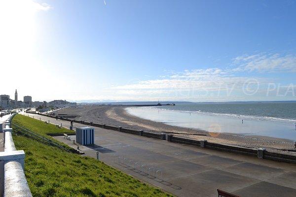 Photo de la plage du Havre