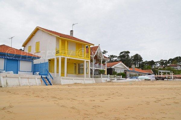 Photo de la plage d'Herbe au Cap Ferret