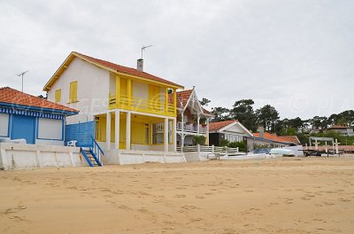 Beach in Cap Ferret in France