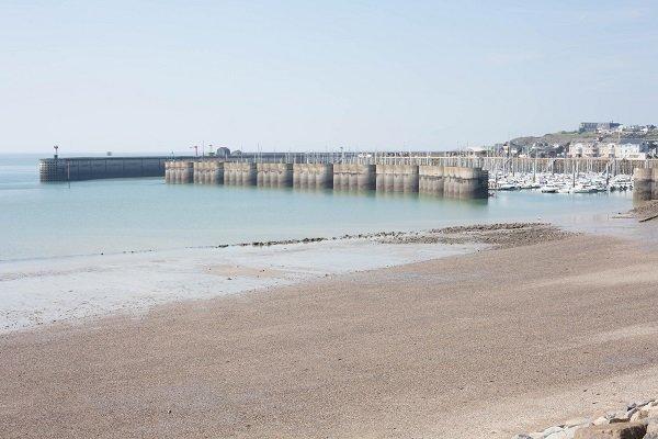 Photo de la plage du Herel à Granville