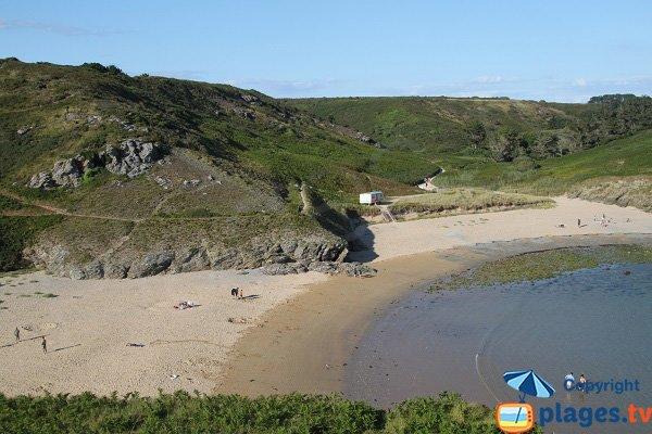 Herlin beach in Belle Ile en Mer - Brittany