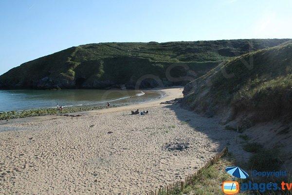Beautiful beach in Belle Ile en Mer - Herlin