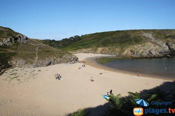 Cliffs of Herlin beach - Belle Ile