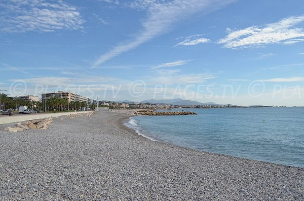Photo of hippodrome beach in Cagnes sur Mer in France