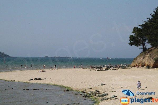 Photo de la plage de Hogolo à Plestin les Grèves