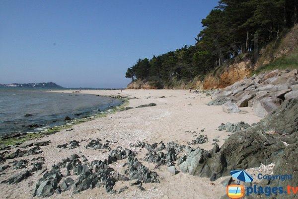 Photo de la plage d'Hogolo à Plestin les Grèves