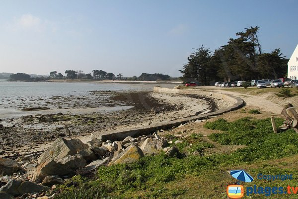 Beach in Perharidi peninsula - Hospital of Roscoff