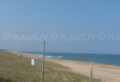 Hossegor Beaches in France