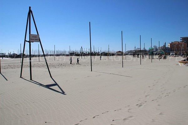 Stadium Henri Emile on the beach of Palavas les Flots