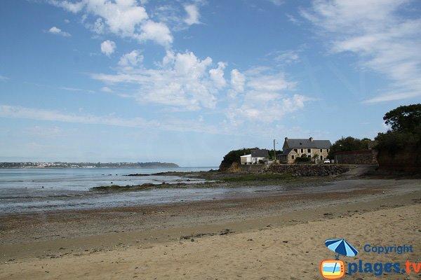 Plage sauvage à Hillion - baie de St Brieuc