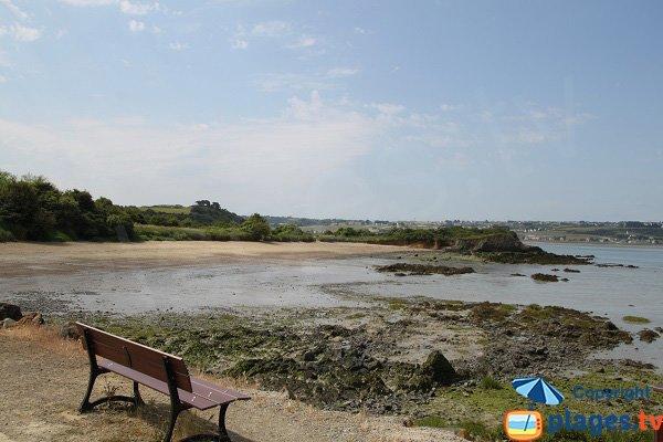 Photo de la plage de l'Hôtellerie d'Hillion