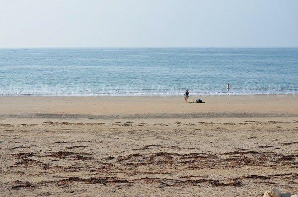 Plage côté océan à St Denis d'Oléron