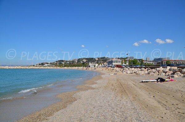 Epluchure Beach in Marseille