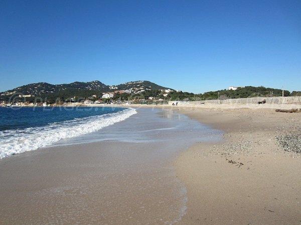 Best beach in Hyères in France