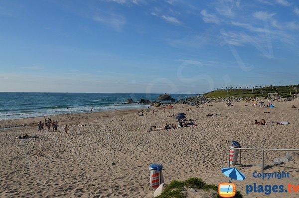 Spiaggia di sabbia a Bidart - Ilbarritz
