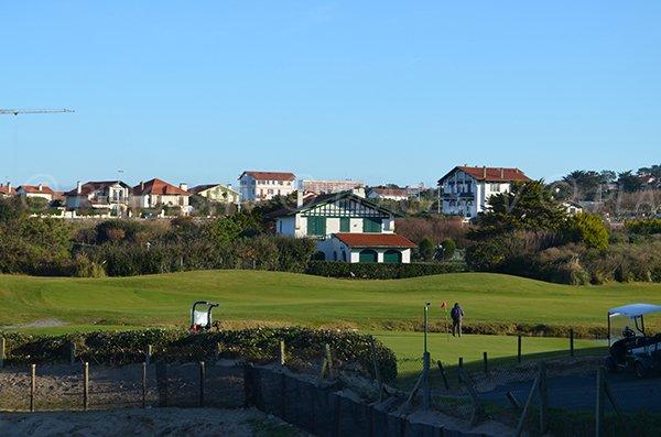 Golf vicino alla spiaggia di Ilbarritz