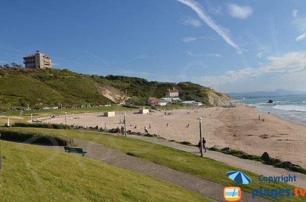 Foto della spiaggia Ilbarritz a Bidart