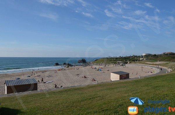 Photo de la plage Ilbarritz à Bidart et Biarritz