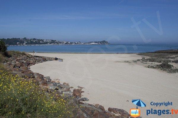 Photo de la plage du Fond de la Baie - Locquirec